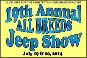 2014 Jeep Show Packet and Registration